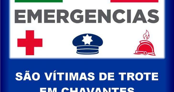 TROTE VIA 190 – MOBILIZA POLÍCIA MILITAR, BOMBEIROS E SAMU ATÉ A CIDADE DE CHAVANTES