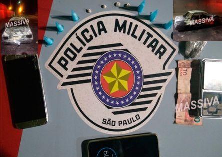 POLÍCIA MILITAR APREENDE ADOLESCENTES NO TRÁFICO APÓS ATEAREM FOGO EM VEÍCULO PRÓXIMO DA FAPI.