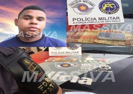 FORÇA TÁTICA ESTOURA MOCÓS DAS DROGAS E DOIS VÃO EM CANA NO JD ITAMARATY.