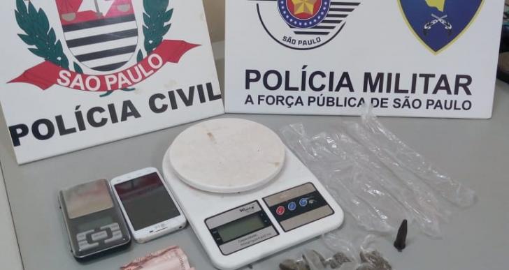 AÇÃO CONJUNTA DA PC E PM DE IPAUSSU TIRA DE CIRCULAÇÃO DOIS MENORES ENVOLVIDOS NO TRÁFICO DE DROGAS