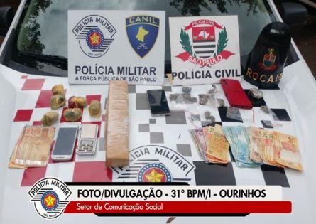 OPERAÇÃO CONJUNTA DAS POLICIAS MILITAR E CIVIL RESULTAM EM DOIS FLAGRANTES