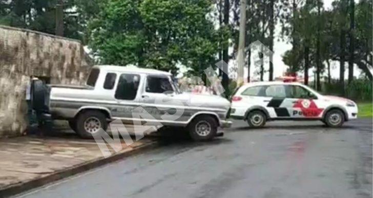 HOMEM MORRE APÓS SER ATROPELADO PELO SEU PRÓPRIO VEÍCULO NA CIDADE DE IPAUSSU