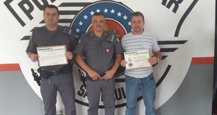 POLICIAIS MILITARES DE CHAVANTES SÃO HOMENAGEADOS NO 31º BPMI DA CIDADE DE OURINHOS