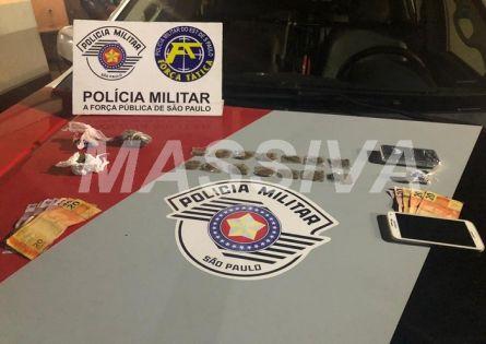 FORÇA TÁTICA PRENDE DOIS NO TRÁFICO DE DROGAS NA BARRA FUNDA