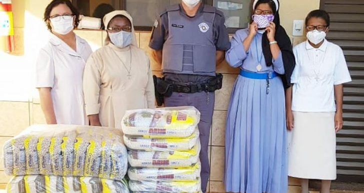 POLÍCIA MILITAR DE CHAVANTES INICIA CAMPANHA EM PROL DO ASILO SÃO VICENTE DE PAULO DA CIDADE DE CHAVANTES