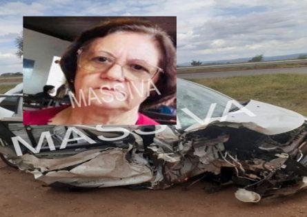 APOSENTA MORRE APÓS COLISÃO ENTRE CARRO E CAMINHÃO CANAVIEIRO PRÓXIMO A CANITAR/SP