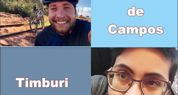 CICLISTAS VÍTIMAS DE ATROPELAMENTOS MORREM EM BERNARDINO DE CAMPOS E TIMBURI