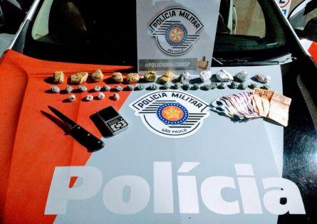 POLÍCIA MILITAR APREENDE ADOLESCENTE NO TRÁFICO PRÓXIMO AO FÓRUM EM OURINHOS