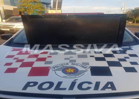 POLÍCIA MILITAR ELUCIDA FURTO, RECUPERA TV, E TRÊS SÃO PRESOS NO PARQUE MINAS GERAIS.