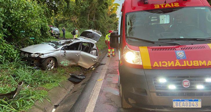POLICIAL CIVIL MORRE NA BR-153 EM SANTO ANTÔNIO DA PLATINA