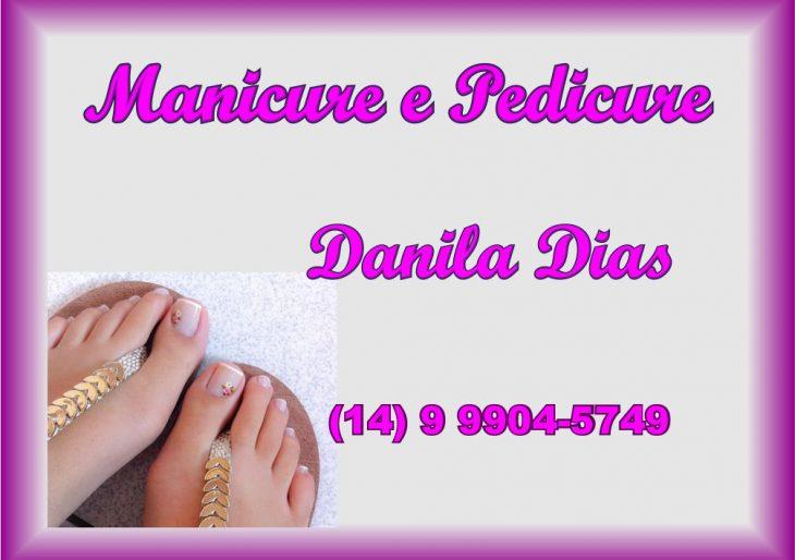 MANICURE E PEDICURE DANILA DIAS