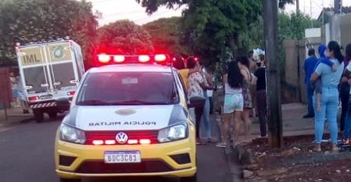 POLÍCIA LOCALIZA CASA ONDE ESTAVAM SUSPEITOS DE ASSASSINATO OCORRIDO NESTA SEXTA-FEIRA EM SARANDI