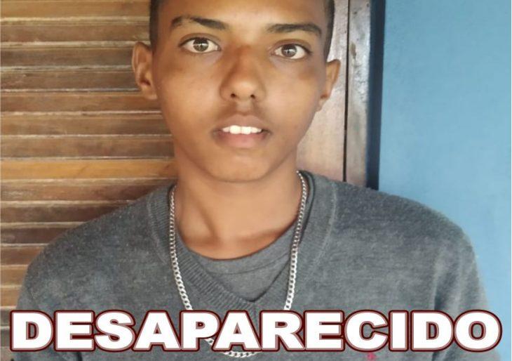 JOVEM DE SALTO GRANDE ESTÁ DESAPARECIDO!
