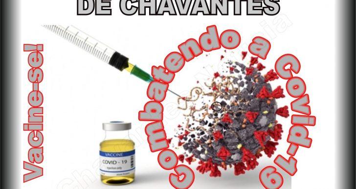 ATENÇÃO!  A SECRETARIA DE SAÚDE DE CHAVANTES, INFORMA O AVANÇO DA VACINAÇÃO CONTRA A COVID-19