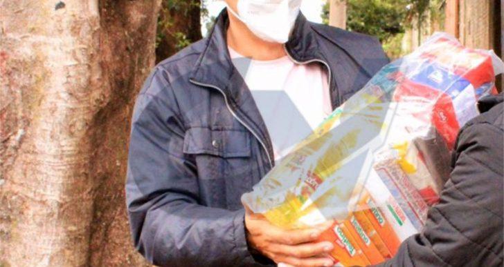 SARGENTO DAVID REALIZA AÇÃO SOCIAL E ENTREGA CESTAS BÁSICAS AS FAMÍLIAS EM SITUAÇÕES DE VULNERABILIDADE SOCIAL DE CHAVANTES E IRAPÉ